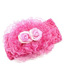 Eternz Haedos Collection Knitted Headband For Kids - Pink