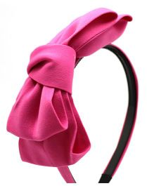 Eternz Haedos Collection Bow Hair Band For Kids - Pink