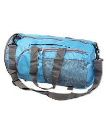 Thought Counts Foldable Hand Bag - Light Blue