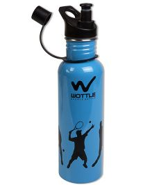 Thought Counts Water Bottle - Blue