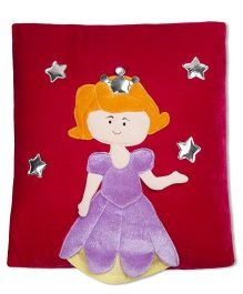 Thought Counts Sophiya Princess Cushion Cover - Red