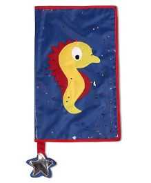 Thought Counts Sea Horse Book Cover - Blue
