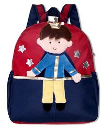 Thought Counts 3D Prince Bag Pack - Blue & Red