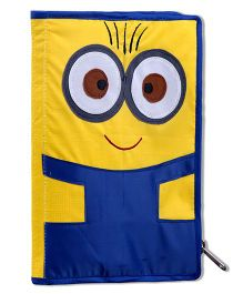 Thought Counts Stationary Pouch - Blue & Yellow