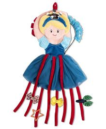 Thought Counts Doll Frock Clip Organizer - Blue