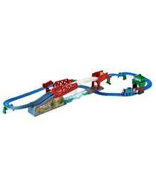 Thomas And Friends Motorized Railway Bridge Jump Set - Blue