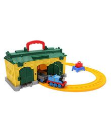 Thomas and Friends Railway Portable TidMouth Shed - Multicolor