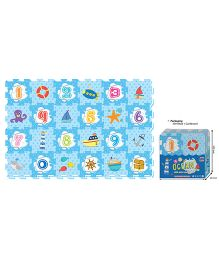 Sunta Oceans Shrinkwrap Blue - 24 Pieces