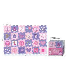 Sunta Fairy Princess Shrinkwrap Pink Purple - 24 Pieces
