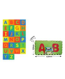 Sunta Alphabets Shrinkwrap Multicolor - 26 Pieces