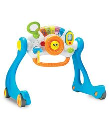 Winfun 5 in 1 Driver Playgym Walker - Blue
