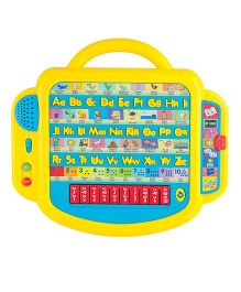 Winfun Letters & Tunes Bilingual Board - Yellow