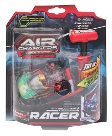 Air Chargers Racer Car With Pump - Green