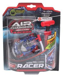 Air Chargers Racer Car With Pump - Blue