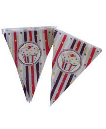 Shopaparty Cupcake Banner - Multicolor