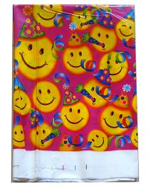Shopaparty Smileys Print Table Cover - Multicolor