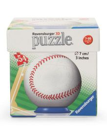 Ravensburger Sportsball 3D Puzzle White - 54 Pieces