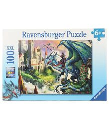 Ravensburger Dragon Rider Puzzle Set Multicolor - 100 Pieces