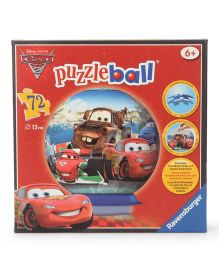 Ravensburger Cars Puzzle Ball Multicolor - 72 Pieces