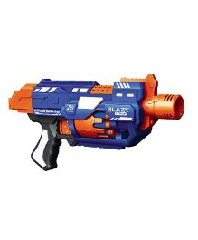 Blaze Storm Barricade RV 10 Dart Gun - Blue And Orange