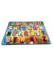 Mamaboo Alphabet ABC Blocks Multicolor - 26 Pieces