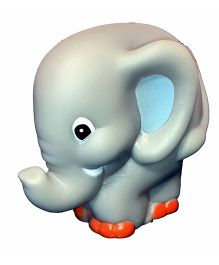 Mamaboo Elephant Squeezy Bath Toy - Grey