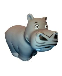 Mamaboo Hippo Squeezy Bath Toy - Grey