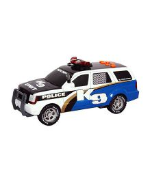 Road Rippers Rush And Rescue Police SUV - Black And Blue