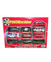 Street Machine Rescue Cars Multicolor - 10 Pieces