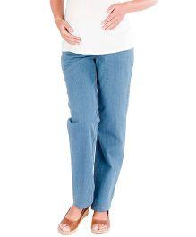 Morph Maternity Denim Pant - Light Blue