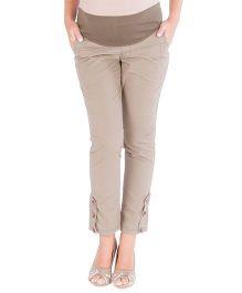 Morph Maternity Ankle Length Pants - Khaki