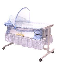 Toyhouse Baby Cradle with Swing Function - Blue