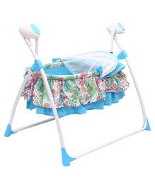 Toyhouse Battery Operated Baby Swinger - Blue