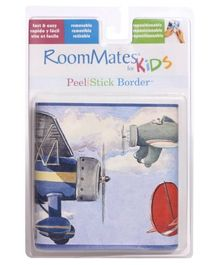 RoomMates Peel and Stick Border Wall Sticker - Aeroplane