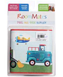 RoomMates Peel and Stick Border Wall Sticker - Transportation