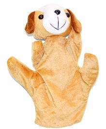 Tipy Tipy Tap Dog Hand Puppet Brown - 24 cm