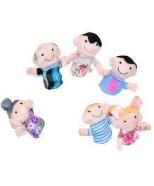 Tipy Tipy Tap Family Finger Puppets Multicolor - 8 cm
