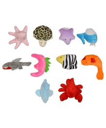 Tipy Tipy Tap Marine Animals Finger Puppets - Multicolor