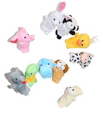 Tipy Tipy Tap Animal Finger Puppets Multicolor - 8 cm