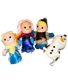 Tipy Tipy Tap Sofia Dolls Finger Puppets - Multicolor