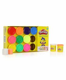 Funskool Play Doh Case of Colors - Pack Of 12