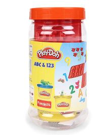 Play Doh Funskool ABC And 123 - Multi Color