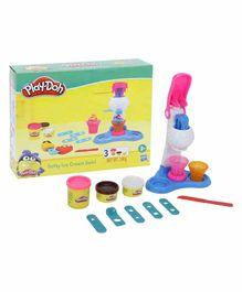 Funskool Play Dough Softy Ice Cream Swirl - Multi Color