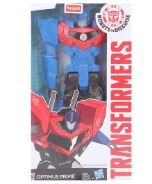 Transformer Titan Heroes Optimus Prime Multi Color - 12 inches