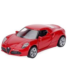 Siku Funskool Die Cast Alfa Romeo 4C Toy Car - Red