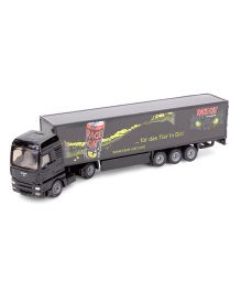 Funskool Siku Koffer Sattelzug Truck And Trailer Toy - Black