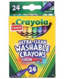 Funskool Crayola Large Washable Crayons - 24 Counts