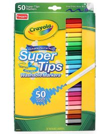 Funskool Crayola Washable Super Tips With Silly Scents - 50 Counts