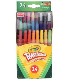 Funskool Crayola Mini Twistable Crayons - 24 Counts