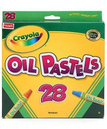 Funskool Crayola Oil Pastels - 28 Counts